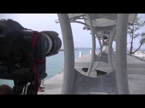 MAKING of CINTA LARA (by VERIANTIE CARVARO) TIDUNG ISLAND