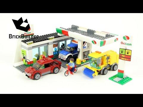Lego City 60132 Service Station - Lego Speed Build - YouTube