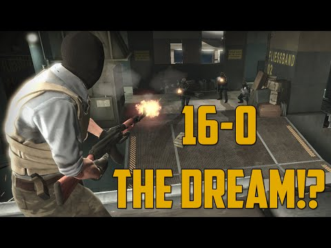 16-0 THE DREAM!? (Counter Strike: GO)