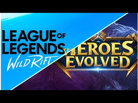 Héroes Evolved Vs League Of Legends