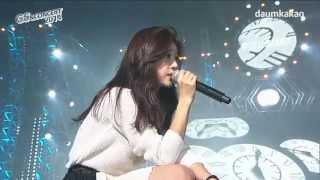 141122 걸스데이 3 보고싶어 I Miss You 라이브 @GS&Concert 2014 Girl