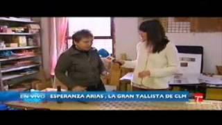 CLM en Vivo. Esperanza Arias, la gran tallista de CLM. 21.03.201