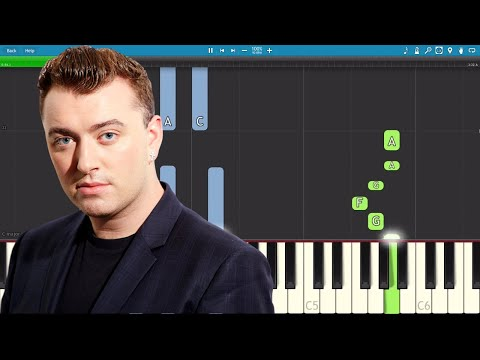 Sam Smith - Too Good At Goodbyes - Piano Tutorial - How To Play