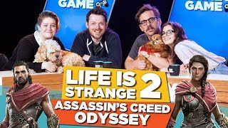 Life is Strange 2! Assassin's Creed Odyssey! | Gamey Gamey Game