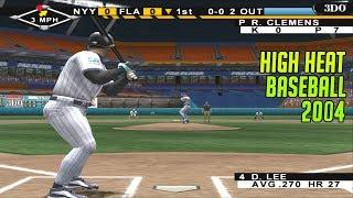 High Heat Baseball 2004 | PS2 Gameplay | New York Yankees vs. Florida Marlins