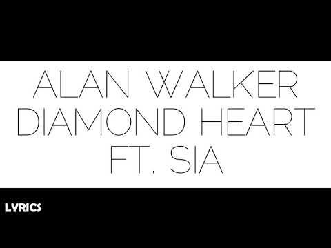 Alan Walker - Diamond Heart Ft. Sia | Lyric Video