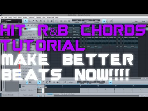 RnB CHORDS TUTORIAL | SECRET HIT FORMULA !!!| PRESONUS STUDIO ONE