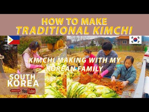 HOW TO MAKE KIMCHI | SOUTH KOREA | TRADITIONAL WAY | ENGLISH SUB