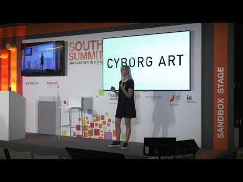 Implementing Technology in The Body, Moon Ribas, Cyborg  Artist at Art in Tech Vertical