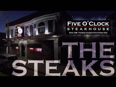 Five O'Clock SteakHouse, Voted the best steaks in Milwaukee 5 years in a row
