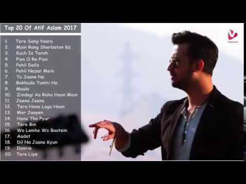 All time best of  Atif Aslam Latest Songs Collection 2017