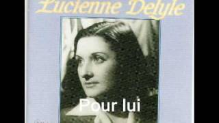 Watch Lucienne Delyle Pour Lui video