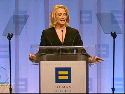 Cybill Shepherd speaks at 2009 Atlanta Dinner