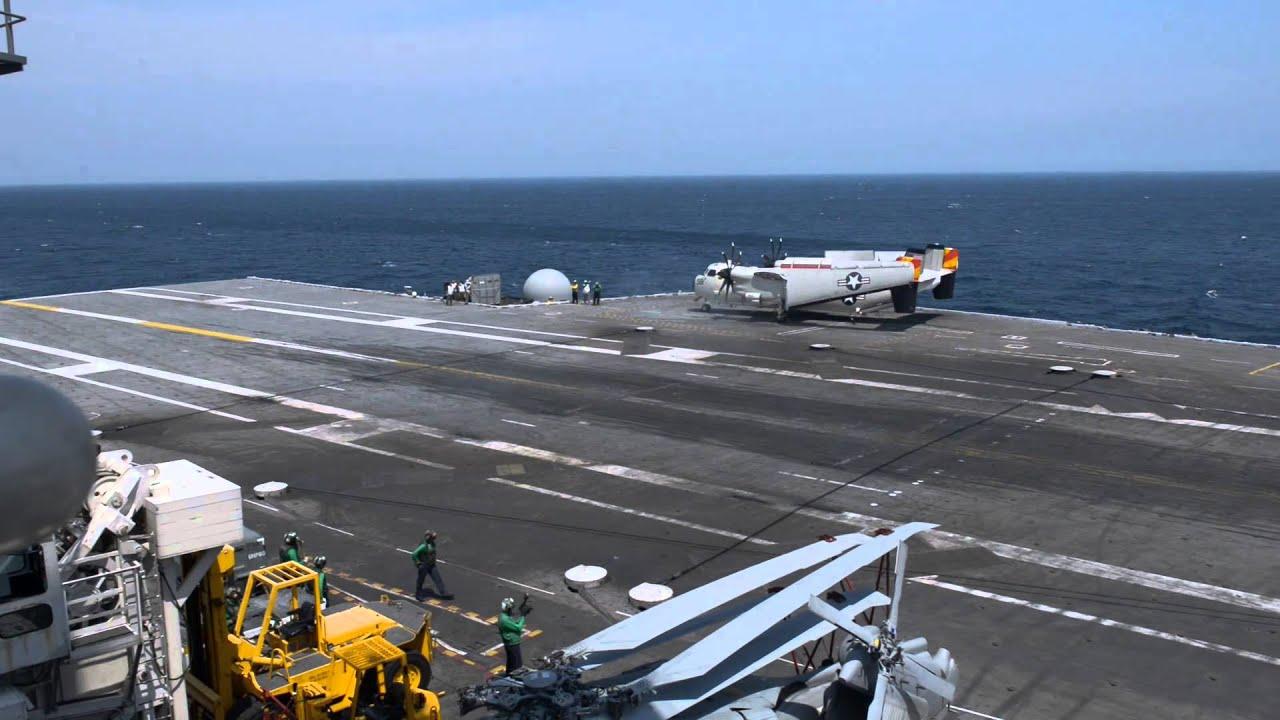 X-47B Completes First Carrier-based Arrested Landing (2)