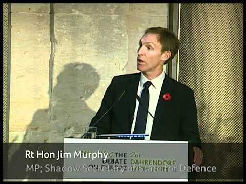 Keynote Speech: Rt Hon Jim Murphy MP, Shadow Secretary of St