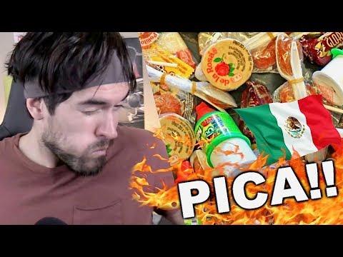 PROBANDO DULCES MEXICANOS !!