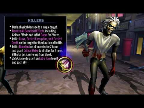 Iron Maiden: Legacy of the Beast - Killers Eddie Attacks!