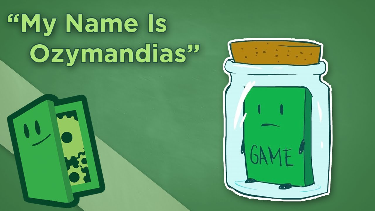 """My Name Is Ozymandias…"" – How to Archive Games for Future Generations – Extra Credits"