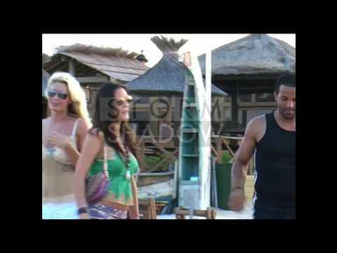 British Singer Craig David On Holidays In St Tropez