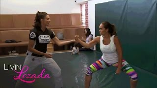 Evelyn and Shaniece Learn to Fight Back Using Jiu-Jitsu | Livin' Lozada | Oprah Winfrey Network