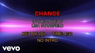 Lisa Stansfield - Change (Karaoke)
