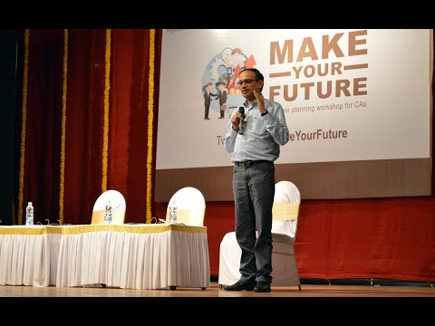 Mr. P B Balaji, CFO, Hindustan Unilever at #MakeYourFuture
