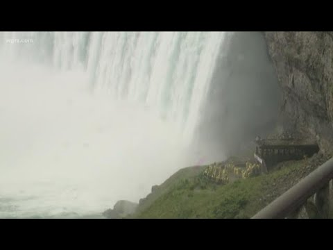 The Mayor Pete Kennedy - Look out below! Man survives a trip over Niagara Falls.