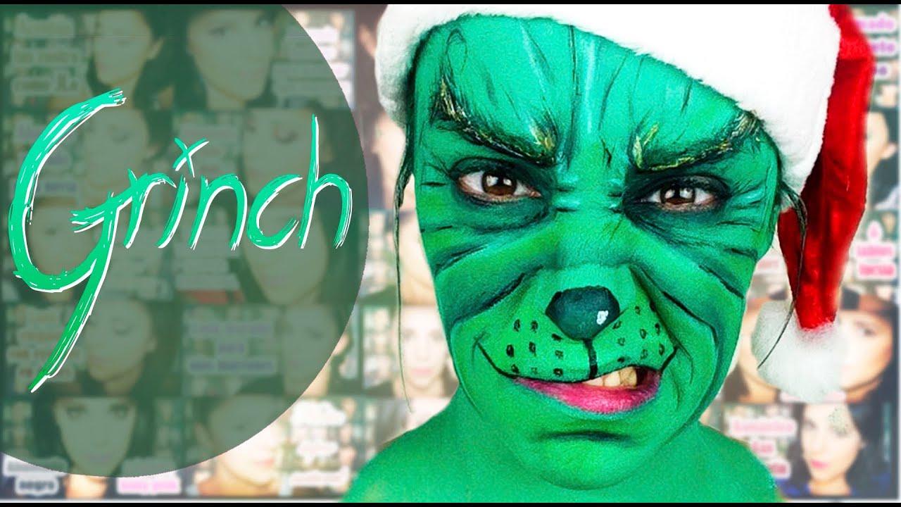 Maquillaje Fantasía The Grinch | Silvia Quiros - YouTube
