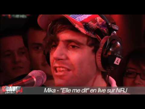 """Mika - """"Elle Me Dit"""" - Live - C'Cauet Sur NRJ"""