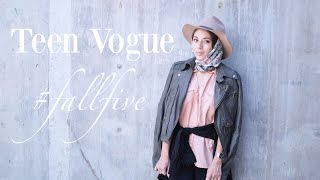 Teen Vogue | #FallFive Lookbook Thumbnail