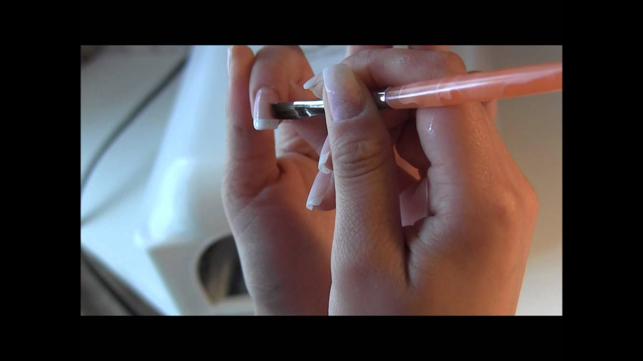 Easy Nail Art Tutorial: How to get the Perfect No-Chip French ...