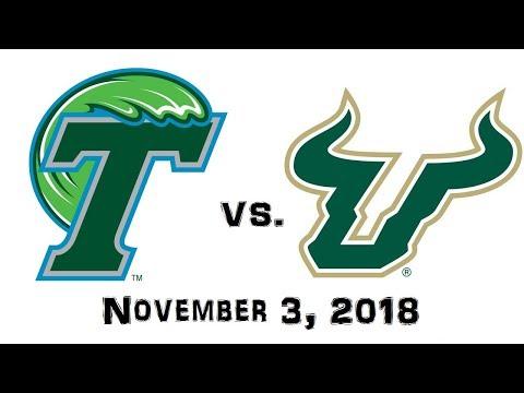 November 3, 2018  Tulane Green Wave vs. South Florida Bulls Full Football Game