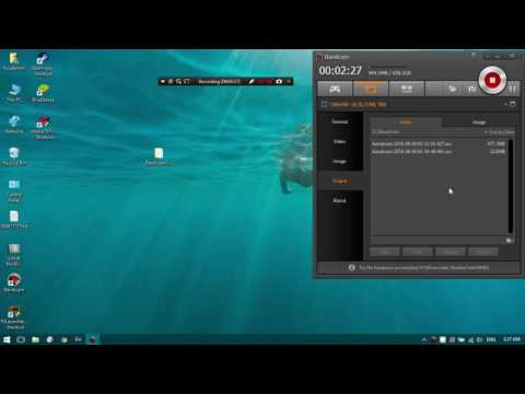 How to Record screen using bandicam