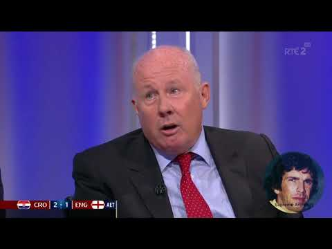 Eamon Dunphy Croatia was England's first real test and they failed it miserably