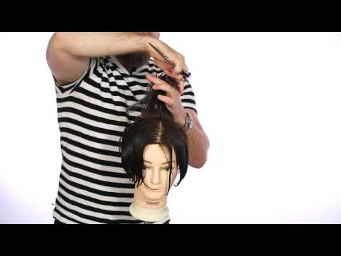 Shears all over haircut tutorial featuring the salon guy