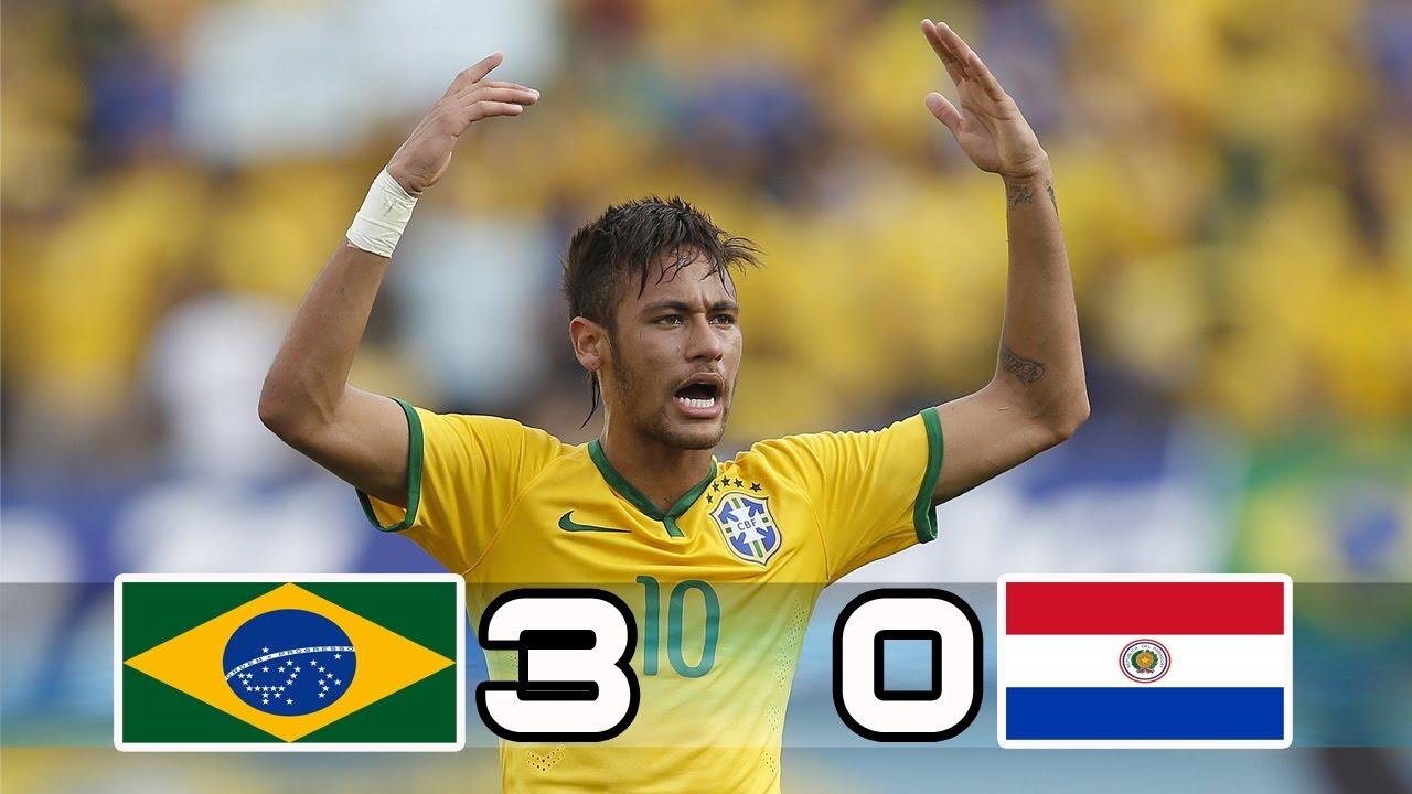 Download Brazil vs Paraguay 3-0  All Goals & Highlights  World Cup Qualifier 29/03/2017.Neymar jr goal