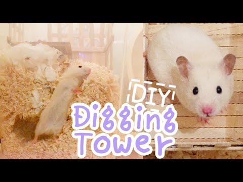 Digging Tower ☆HAMSTER DIY☆