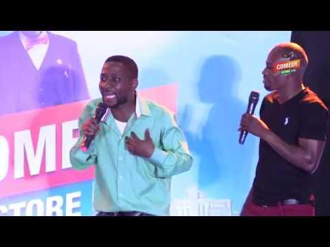 Alex Muhangi Comedy Store March 2019 - Snake & Zolo