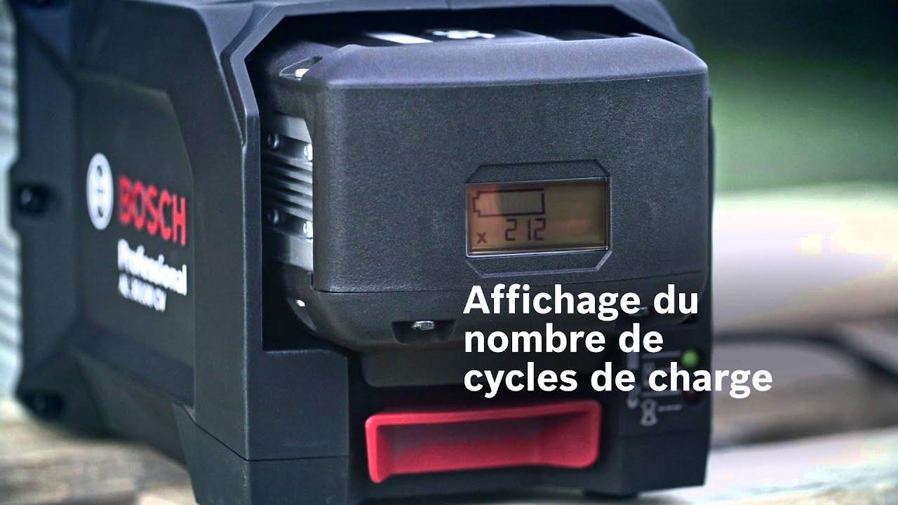 Outils de jardin sans fil professionnels Bosch – batterie (charge ...