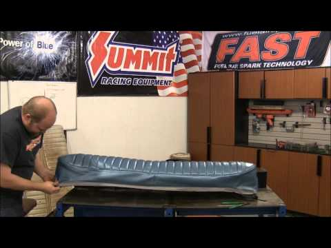 How To Install Upholstery on a Rear Seat Bench