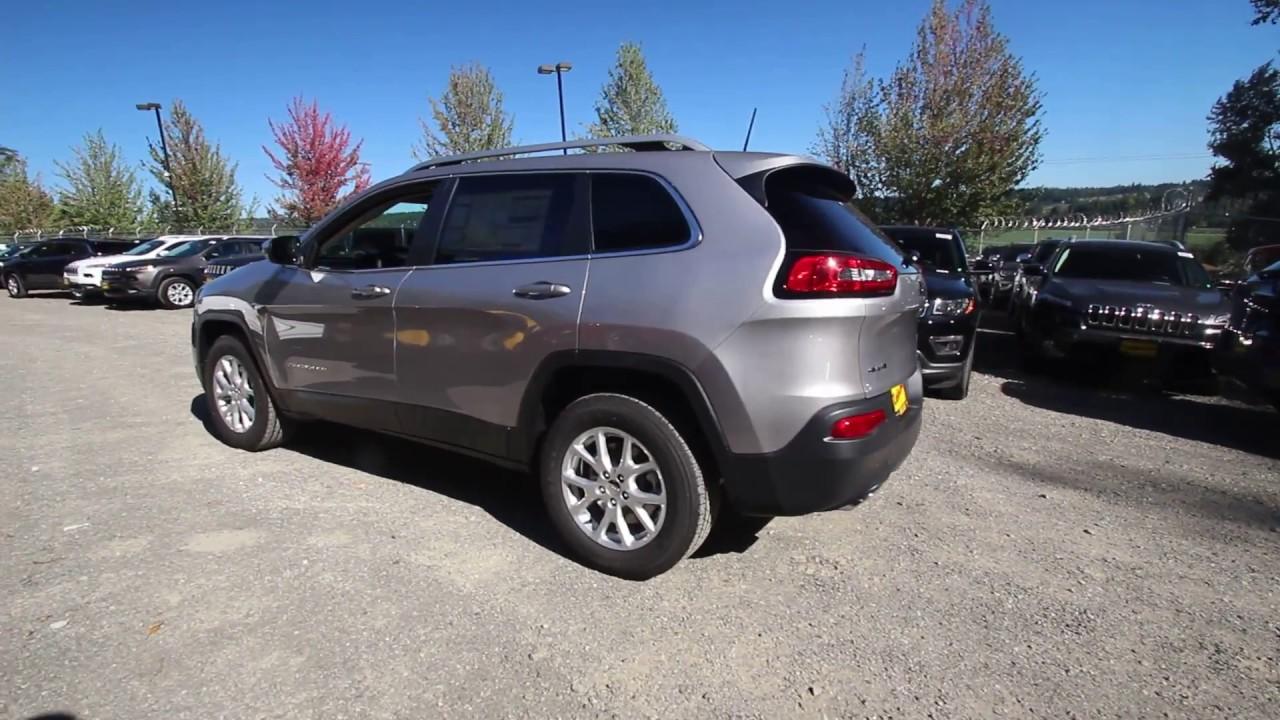 2018 jeep cherokee latitude 4x4 | billet silver metallic