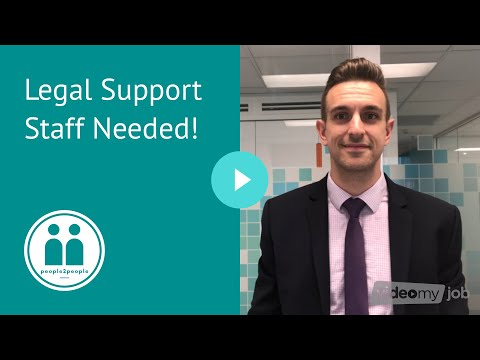 Legal Support Staff Needed!