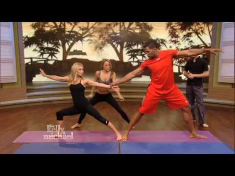 "Kelly and Michael's Fitness Challenge -- Acro Yoga -- ""LIVE with Kelly and Michael"""