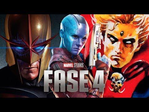 Descubre los SECRETOS de La FASE 4 Galáctica de Marvel Studios y muchas NOTICIAS más!