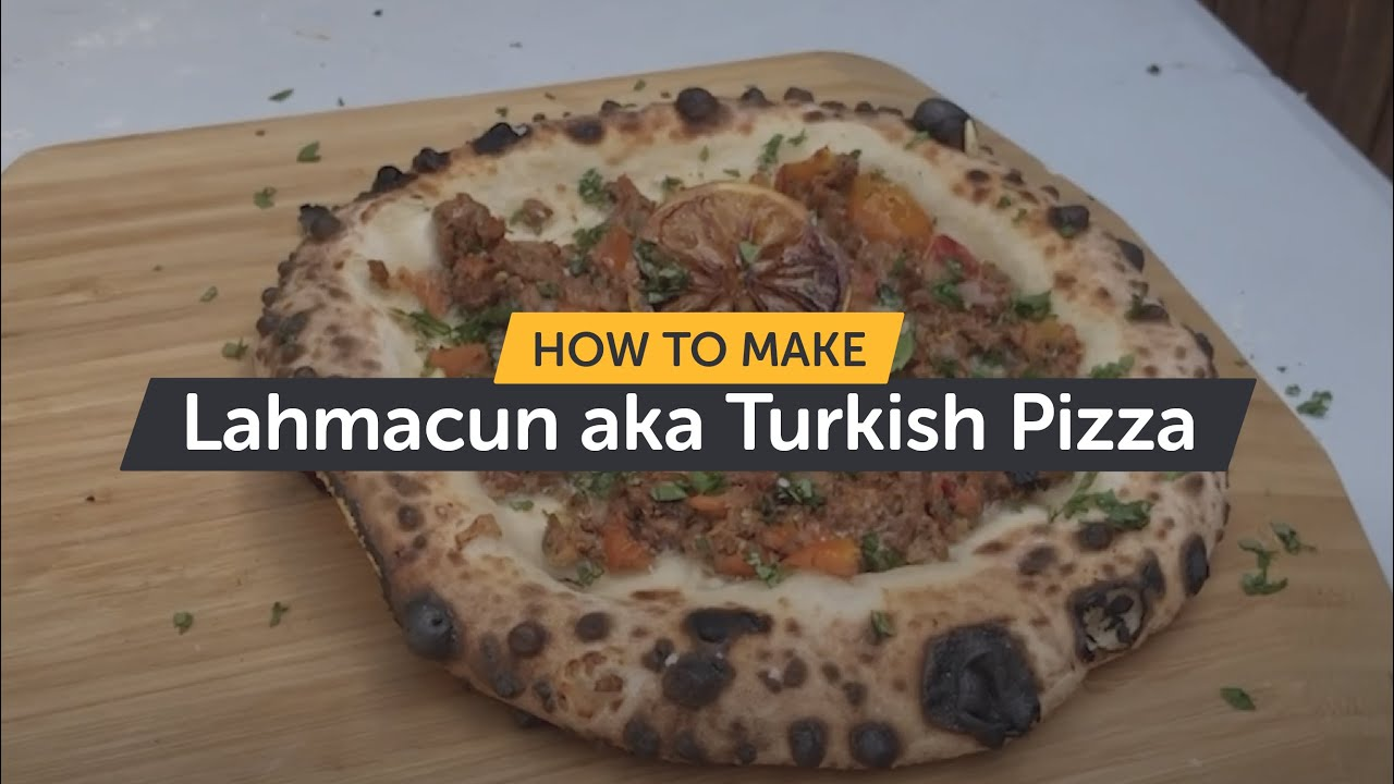 How To Make Turkish Pizza aka Lahmacun | Making Pizza At Home