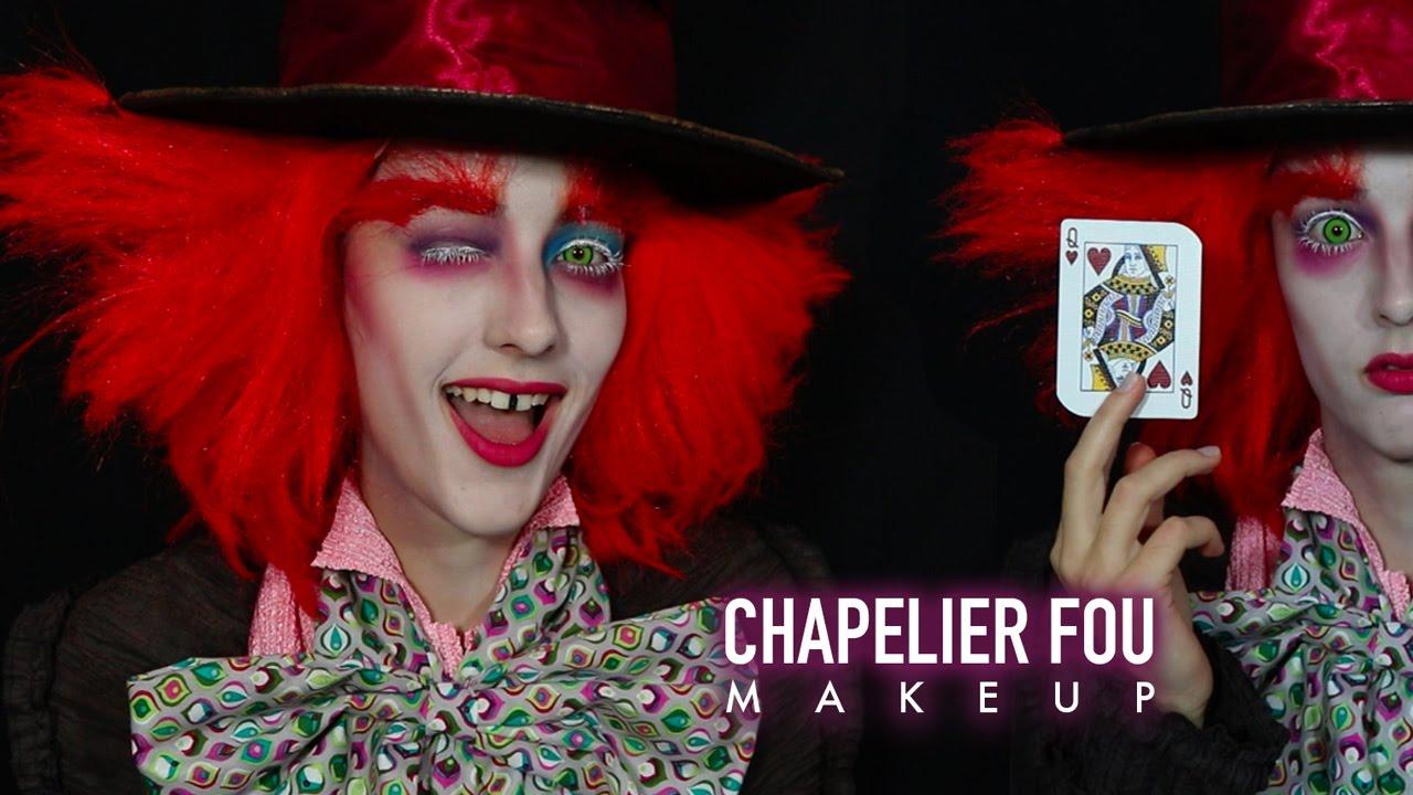 CHAPELIER FOU MAKEUP TUTORIAL HALLOWEEN -
