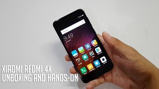 Xiaomi Redmi 4X Unboxing and Hands-On