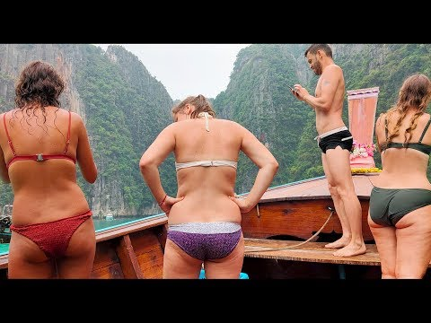 Snorkeling near most beautiful place of Thailand, Maya bay | 4 Island tour at Phi Phi |