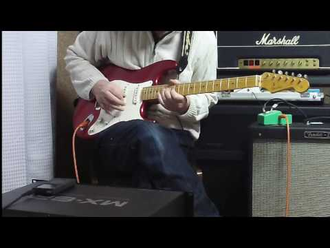 Fender Japan '80 Strat (Fujigen) + Ibanez TS808 + Hot Rod Deville 410  Sound Check