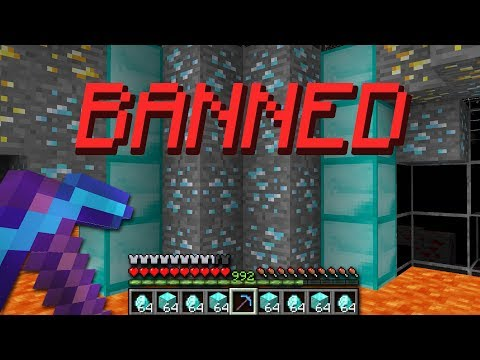 BANNED For HACKING On This Minecraft UHC Server...